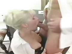 Milf secretary anal drilled on a desk
