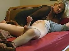 Mommy videos. This MILF is mommy to our stud, so he without hesitation bangs her twat