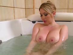 Bathroom, Babe, Bath, Bathroom, Big Tits, Blonde