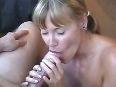 Recovery Blowjob and Cum after BJ with surprise cum scene