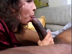 CD Sucks Huge Black Cock