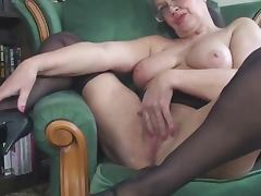 British, Amateur, British, Stockings, UK