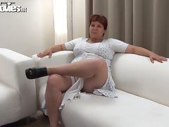 Grandma Renate Zug is being such a dirty lady porn video