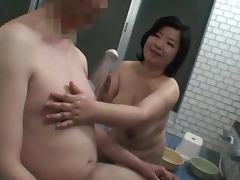 A randy old Japanese couple are feeling naughty