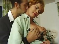 German mature milf Kira Red anal assfucked
