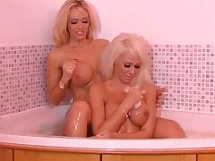 Lucy Summers and Lucy Zara RLC Bathtime