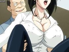 Hentai, Anime, Babe, Big Tits, Fucking, German
