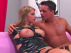 Milf with big tits Francesca Felucci being drilled