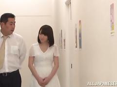 Armpit, Armpit, Asian, Blowjob, Bra, Couple
