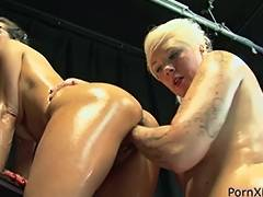 All, Ass, Blonde, Brunette, Fisting, Lesbian