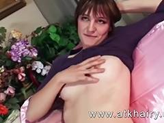 Super curly Jeff with unshaved snatch armpits and legs porn video