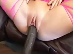 Amy Brooke takes Lexington Steele's large dark penis POV porn video