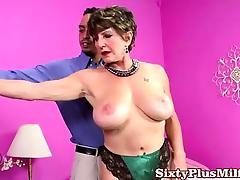 Hot big tit granny pornstar