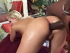 British, Ass, Asshole, Blonde, British, Interracial