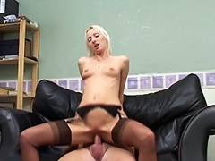 Brit Nylon Stocking Mother I'd Like To Fuck Pt 02