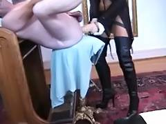 Lisa Berlin The German Thong on Queen HARD BONKS her thrall