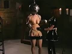 Latex Godess and her Maid recive a fresh Package