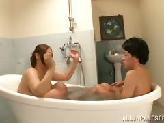 Bath, Amateur, Asian, Bath, Bathroom, Big Tits