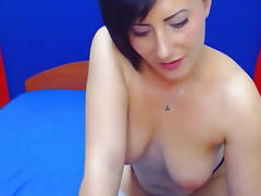 Big Tits Babe Sucks and Rides a Big Cock