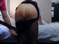 Sissy School Girl Gets A Good Beating With The Strap