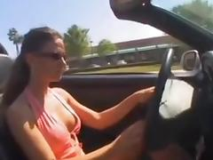 Car, Amateur, Blowjob, Car, Clit, Facial