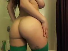 Big Tits Wet Pussy Dildo Fucking