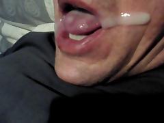 jbarths newest self facial with cum