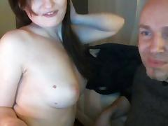 Amateur Couple On WebCam Making Sex And Other Horny Things