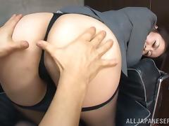 Hot HArdcore Sex in the Office for Japanese Kaede Niiyama