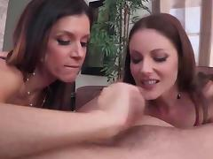 Samantha Ryan and India Summer ffm fun porn video
