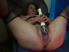 BBW Granny Squiting