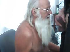 Daddy Santa Paul Eats Breakfast