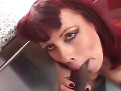 Rubee Red Head Mature MILF FUCKS BBC