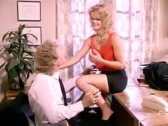 Classic porn episode featuring hawt blond playgirl