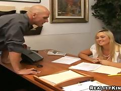 All, Blonde, Blowjob, Couple, Cowgirl, Office