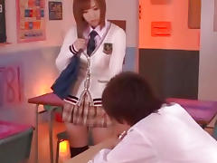 Teen Japanese cock sucker and fucker