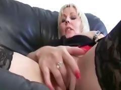 2 Lesbian MILFS Masturbating... IT4