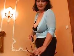 Mature woman and two young men - 3 porn video