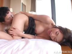 Kaho Kasumi blows and gets her tight Japanese vag stunningly pounded