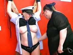 Hardcore grannys are going crazy in this insane BDSM