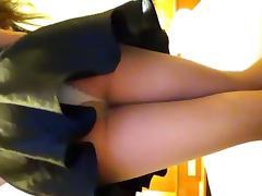 Feminized, Pantyhose and White Panties