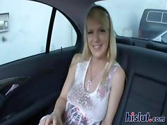 Backseat, Backseat, Blonde, Blowjob, Car, Handjob