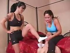 Princess, Femdom, Workout, Princess, Socks