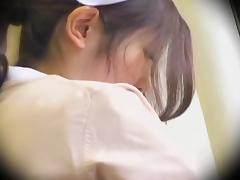 Perfect Jap nurse crammed hard in Japanese sex video