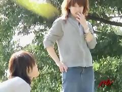 Amazing upskirt video of admirable amateur Asian babes being caught on tape