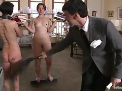 Master, BDSM, Fingering, Slave, Spanking, Toys