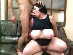 Big Boobs Fatty Double Teamed