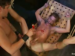 Parker London gets his ass gaped and fucked by Sebastian Keys