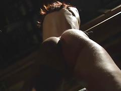 Redhead slave endures and plesures in bondage
