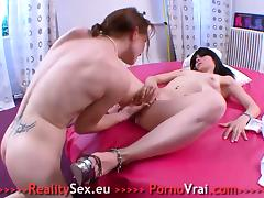 Two lovely French Teen Lesbian